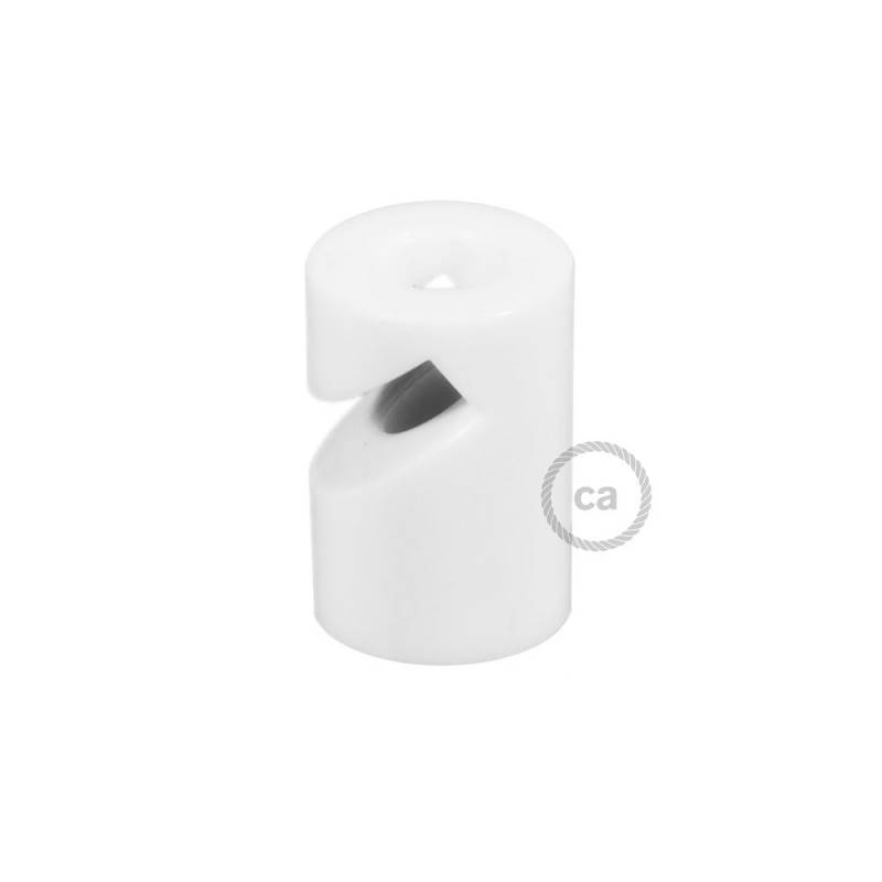 """Swag Hook, White """"V"""" ceiling or wall hook for any fabric electric cable"""