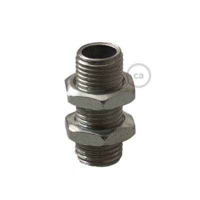 Threaded tube + nuts - Packing: 2 pieces