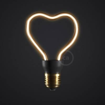 The Heart Bulb - LED Art Heart Light Bulb