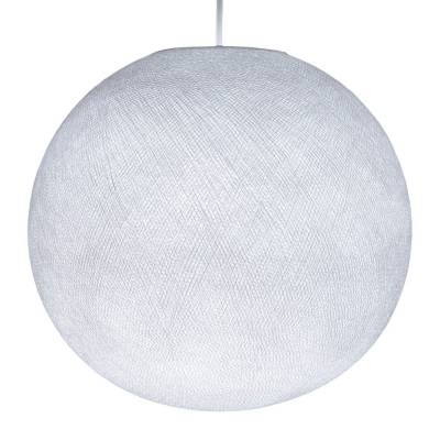 Pure White Round Fabric Lampshade - Round lamp shade for Pendant Lights, Hanging Lights & Chandelier - 100% Handmade