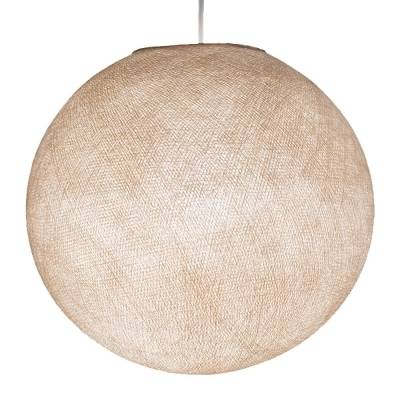 Linen Round Fabric Lampshade - Round lamp shade for Pendant Lights, Hanging Lights & Chandelier - 100% Handmade