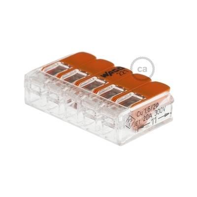 WAGO 5 Conductor - Universal Splicing Connector