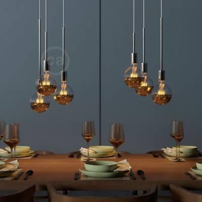 Chrome Metal Extension Tubes - Lamp Parts