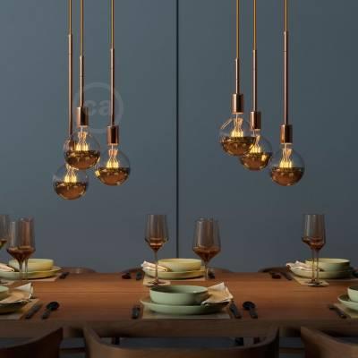 Copper Metal Extension Tubes - Lamp Parts