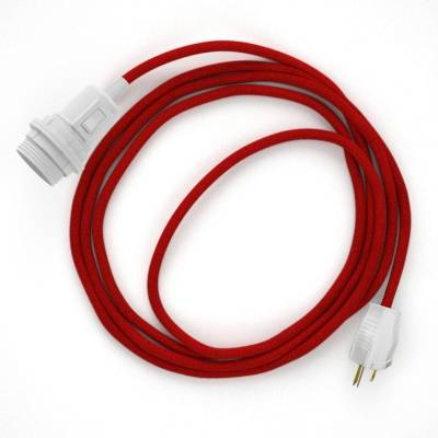 Create your RC35 Red Cotton Snake for lampshade and bring the light wherever you want