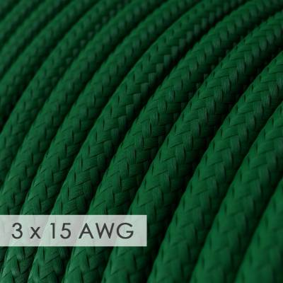 Extension Cord - Round Emerald Rayon RM21 - 15/3 AWG