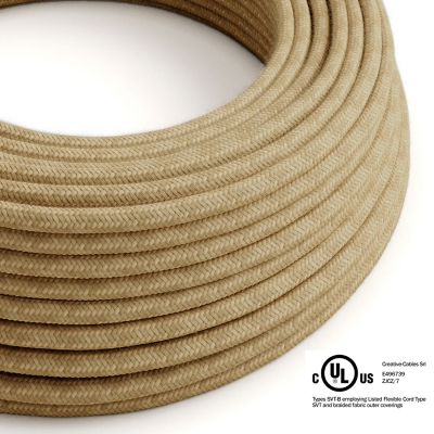 Jute covered Round electric cable - RN06