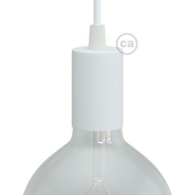 Flat Top Metal light bulb socket kits - E26